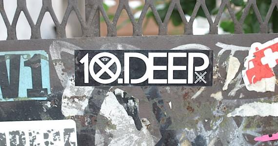 10 Deep 2 Sticker