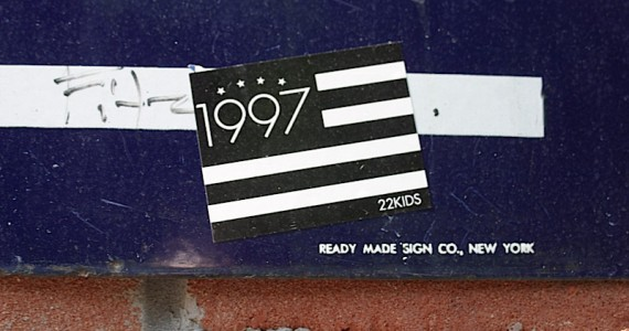 1997 Flag Sticker