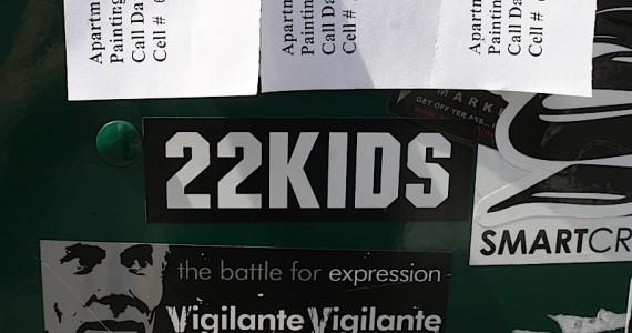 22 Kids Sticker