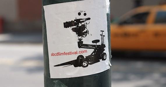 Abcdfilmfestival Sticker