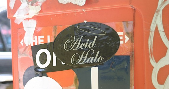 Acid Halo Sticker