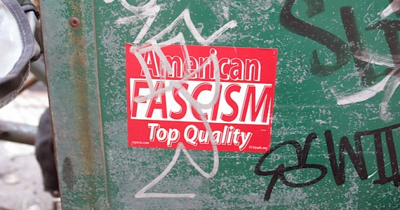 American Fascism Sticker