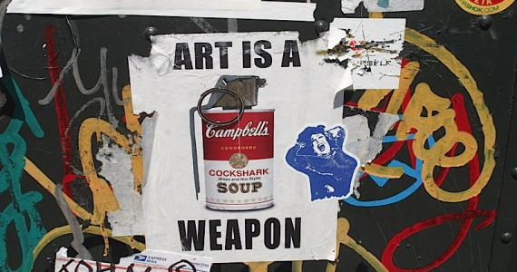 art As A Weapon Sticker