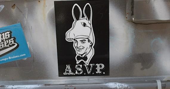 Asvp Horse Man Sticker