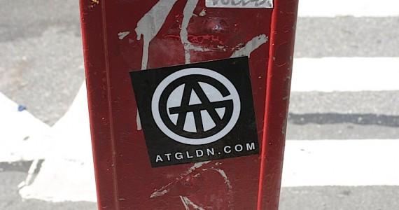 Atgldn Sticker