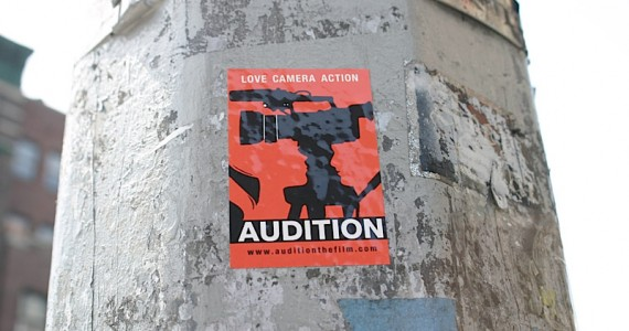 Audition Sticker