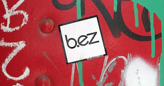 B ez Sticker