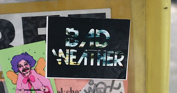 Bad Weather1 Sticker