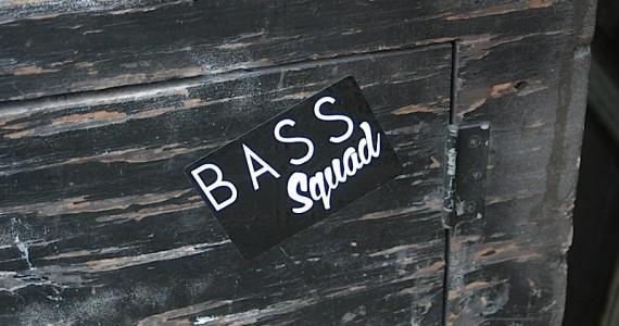 Bass Squad Sticker