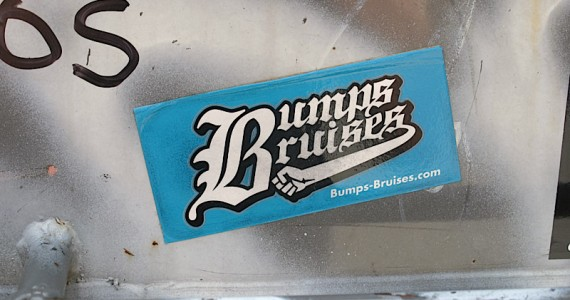 Bumps Bruises Sticker