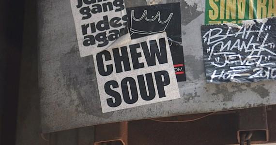 Chew Soup Sticker