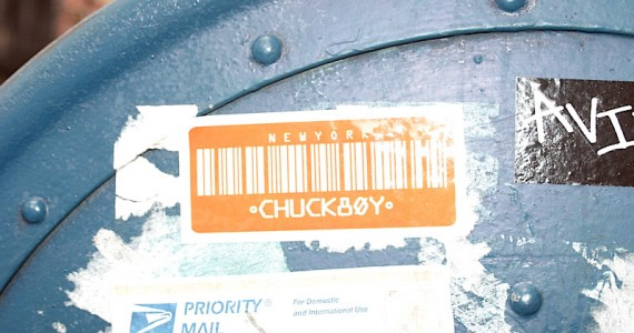 Chuckboy Sticker