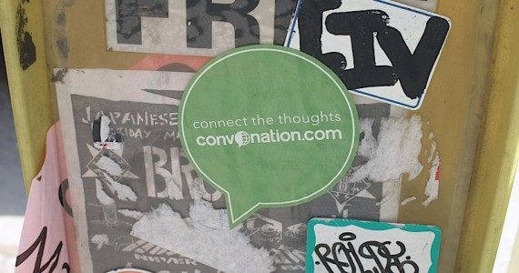 Connect The Thoughts Sticker