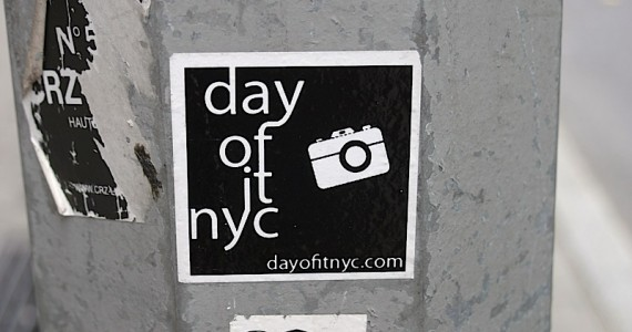 Day Of It Nyc Sticker