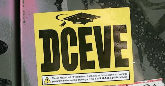 Dceve Warning Sticker