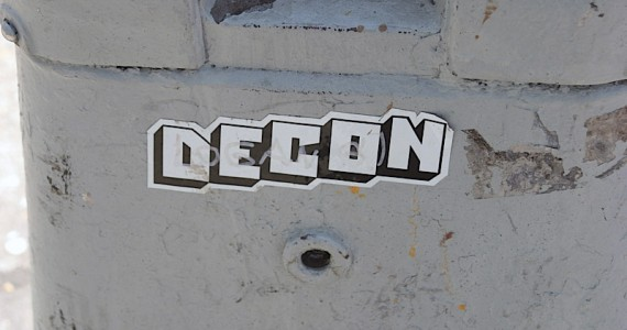 Decon Sticker
