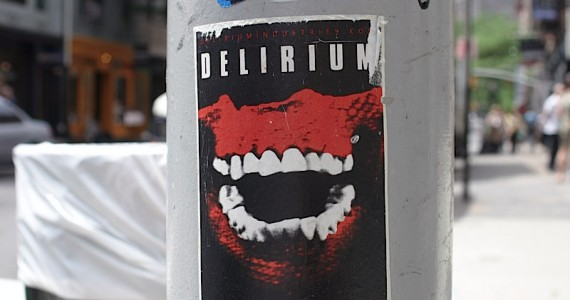 Delirium  Sticker