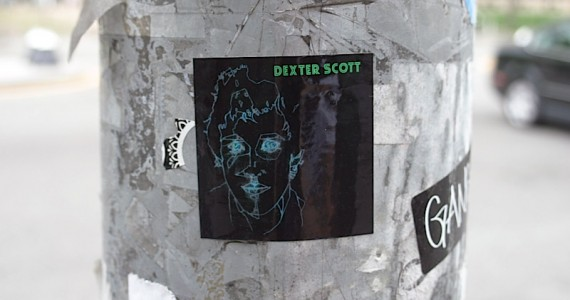 Dexter Scott Sticker