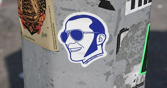 Dj Wes Smith Sticker