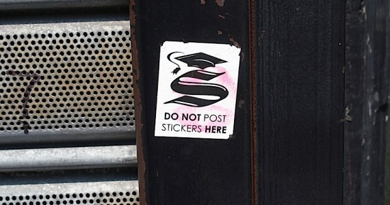Do Not Post Stickers Sticker