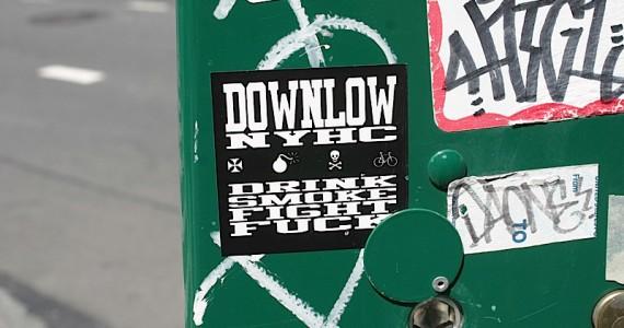 Downlow Sticker