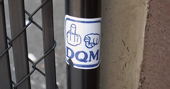 Dqm Sticker