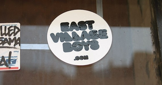 East Village Boys Sticker