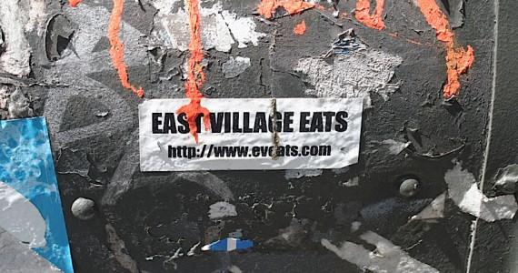 East Village Eats Sticker