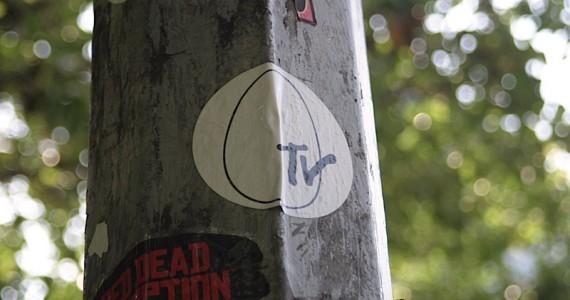 Egg Tv Sticker