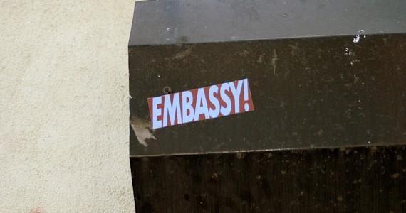 Embassy1 Sticker