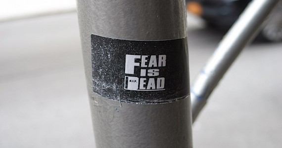 Fear Is Dead  Sticker
