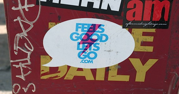 Feels Good Lets Go 2 Sticker