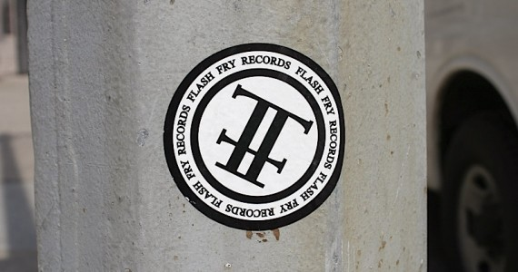 Flash Fry Records Sticker