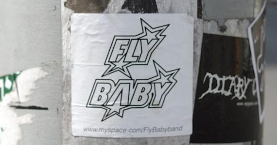 Fly Baby1 Sticker