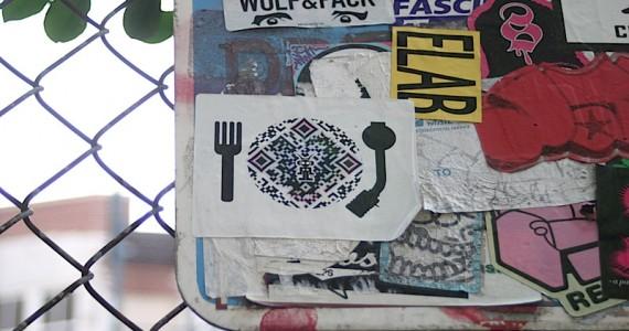 Fork Qr Turntable Sticker