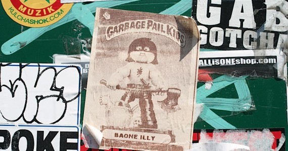 Garbage Pail Kids Sticker