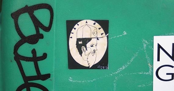 Georg 2 Sticker