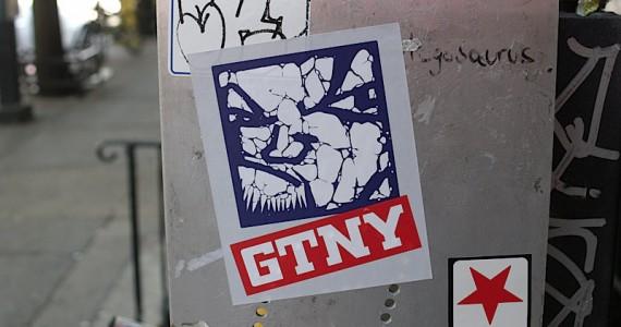 Gtny Sticker