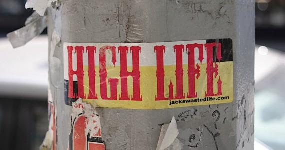 High Life Sticker