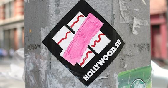 Hollywood Se Sticker