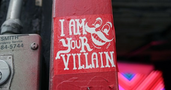I Am Your Villain Sticker