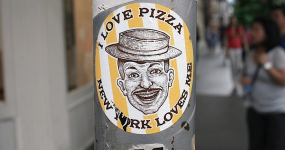 I Love Pizza Sticker