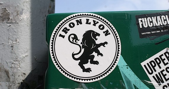 Iron Lyon 2 Sticker
