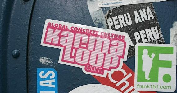Karma Loop Sticker