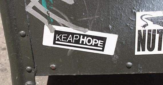 keap Hope Sticker
