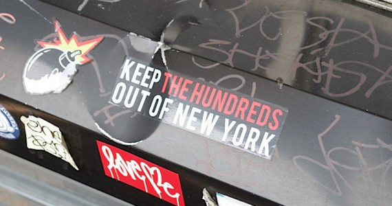 keep The Hundreds Sticker