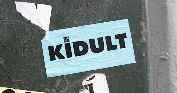 Kidult 2 Sticker