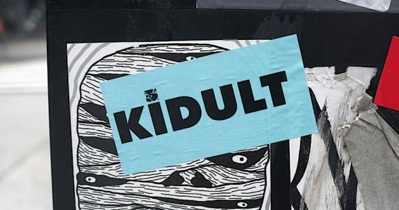 Kidult Sticker