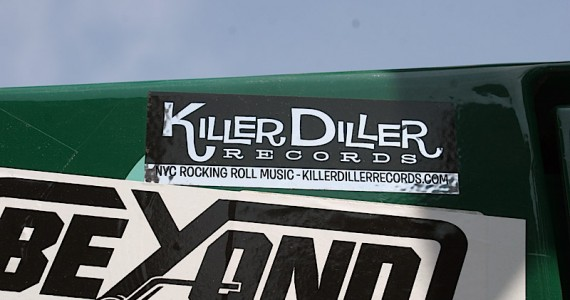 killer Diller Sticker