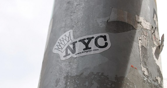 King Of Nyc Sticker